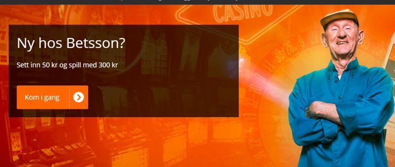 Betsson Casino 500% bonus